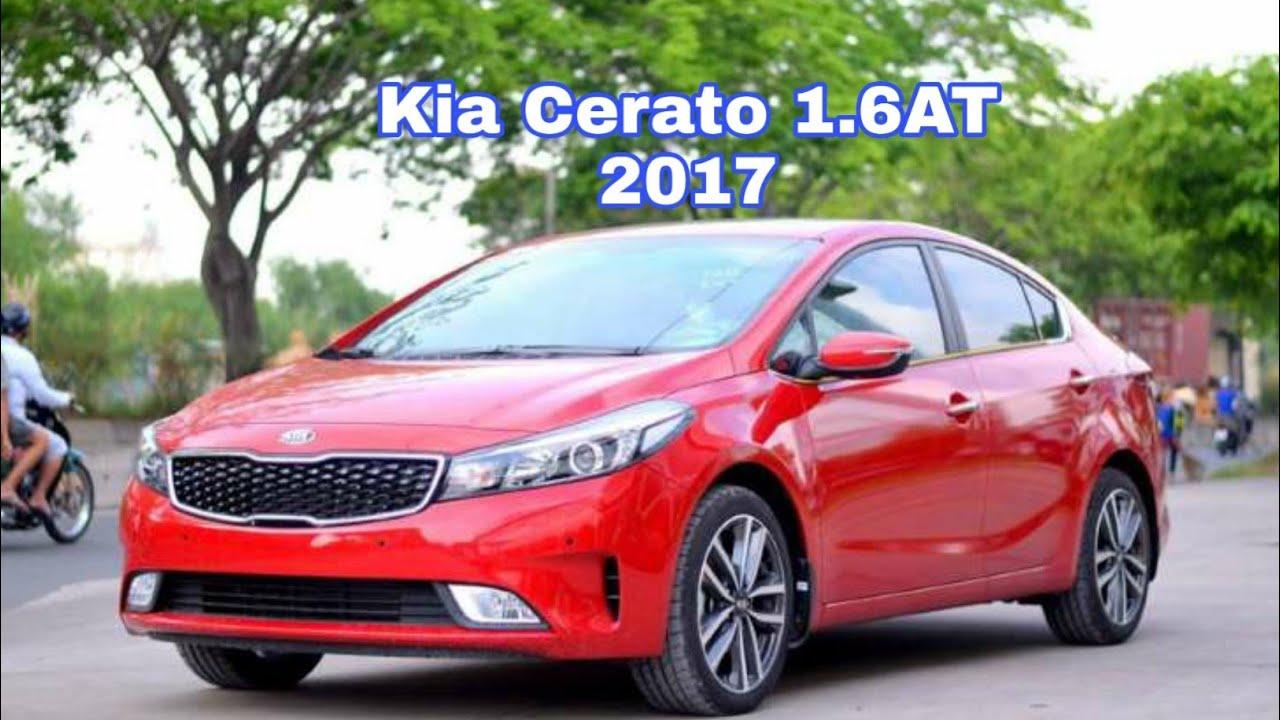 Kia Cerato 1.6AT 2017 cũ, full option, đẹp xuất sắc.