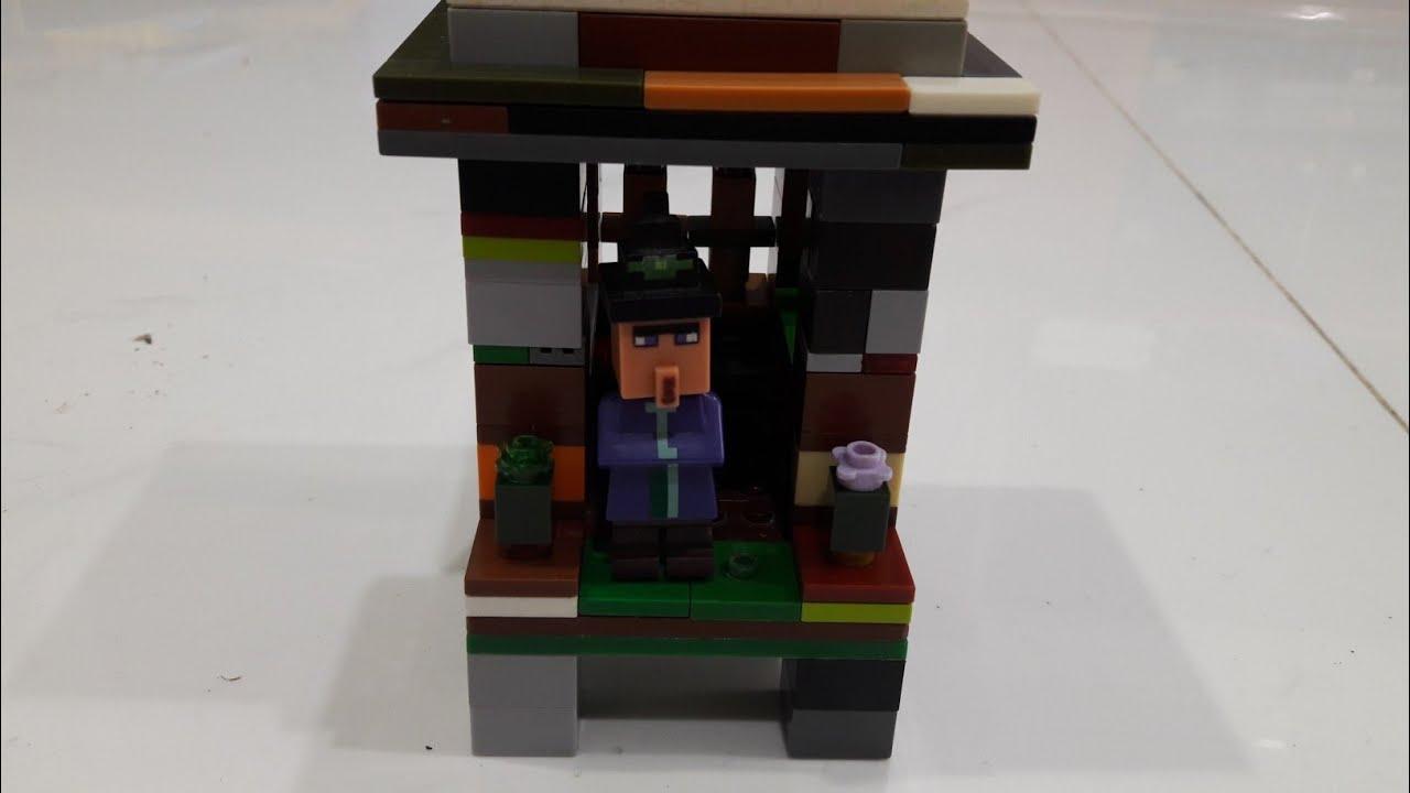 lego minecraft witch hut