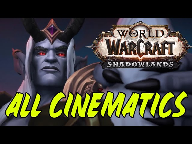 WoW Shadowlands - All Cinematics in Chronological Order - The Movie