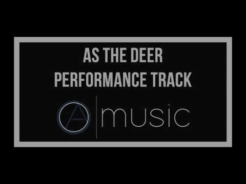 As The Deer Panteth For the Water - Backing Track, Performance Track, Karaoke - Okantan Ayeh