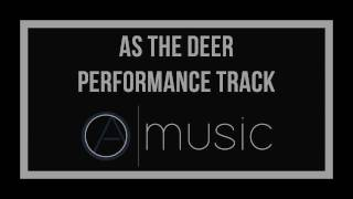 As The Deer Panteth For the Water Backing Track