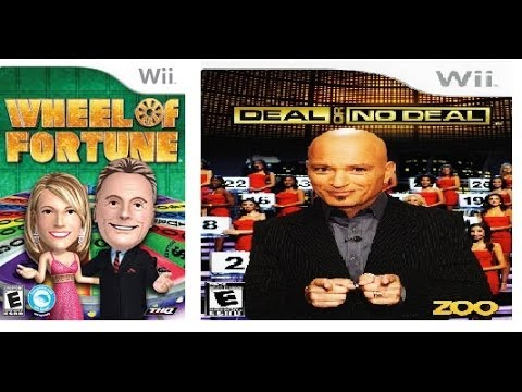 Deal Or No Deal Nintendo Wii Game 1 pt1 - YouTube
