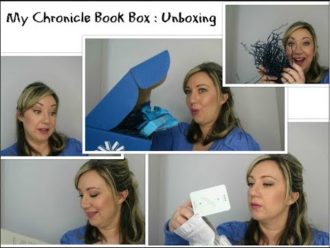 Unboxing: My Chronicle Book Box