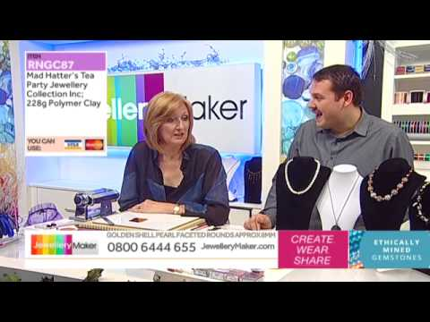 How To Make Polymer Clay Jewellery - JewelleryMaker LIVE (AM) 28/11/2014