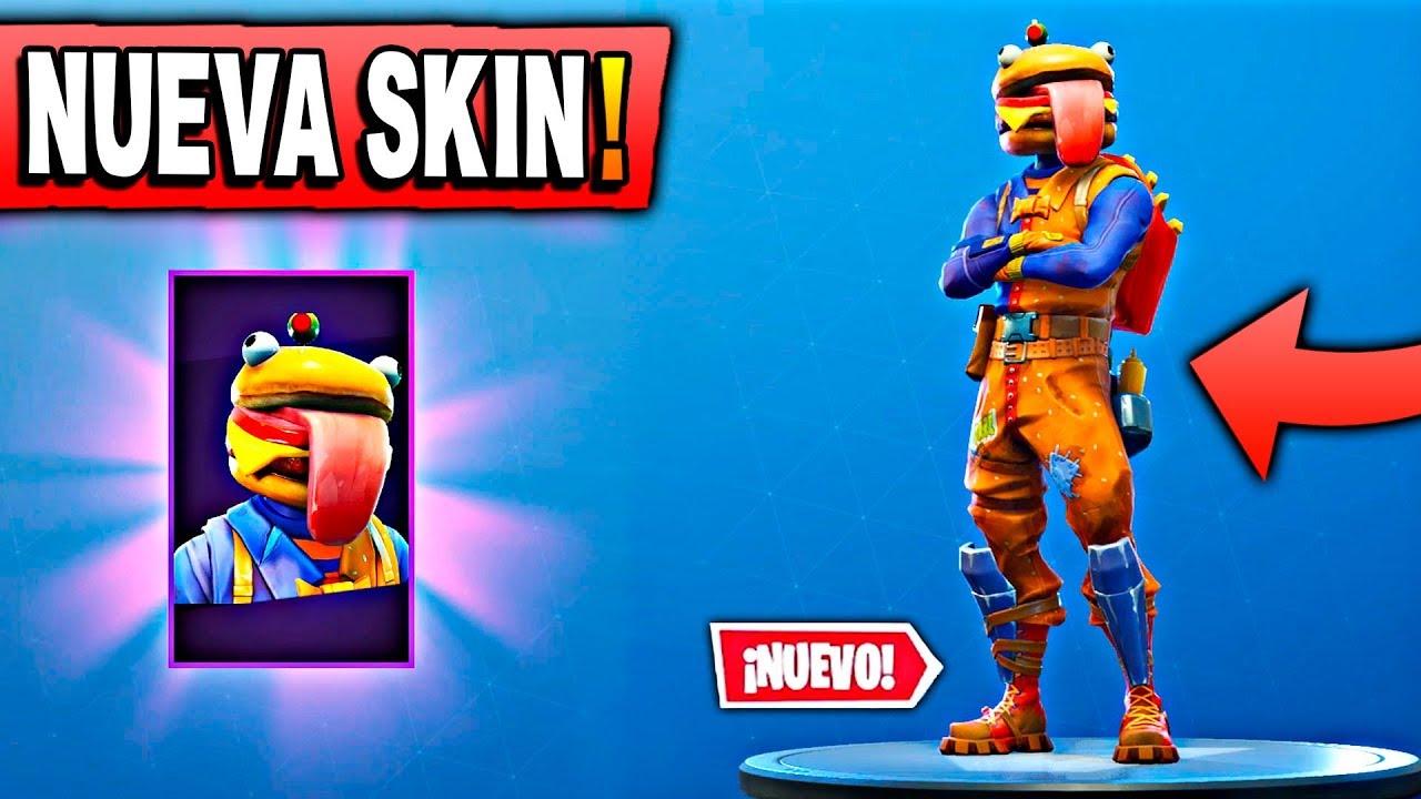Nueva Skin La Cabeza De Hamburguesa En Fortnite Battle Royale