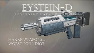 Destiny 2 - Eystein D - Hakke Pulse Rifle - PVP Gameplay Review
