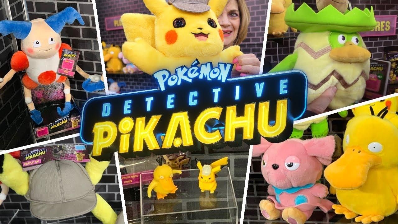 Pokemon Detective Pikachu Toys Youtube