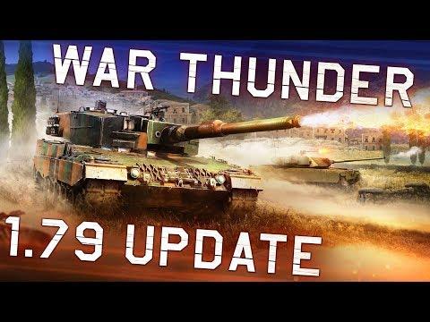 War Thunder update 1.79