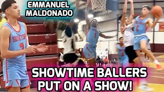 Emmanuel Maldonado & Showtime Ballers Get DISRESPECTFUL! Nasty Posters & A Whole Lotta BUCKETS 🔥