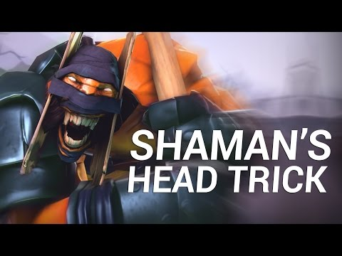SHAMAN'S HEAD TRICK - Dota Short Film Contest