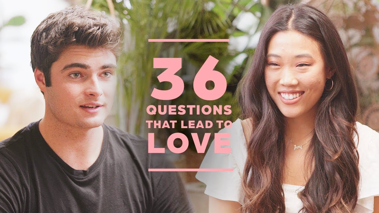 Can 2 Strangers Fall in Love with 36 Questions? Joey + Amy #1