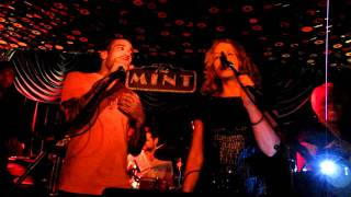 "Ben Harper and Joan Osborne covering Van Morrison ""Crazy Love"" at The Mint"