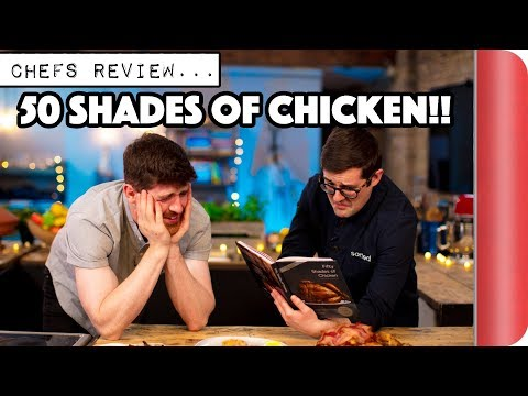 Chefs Review 50 SHADES OF CHICKEN Cook Book!!