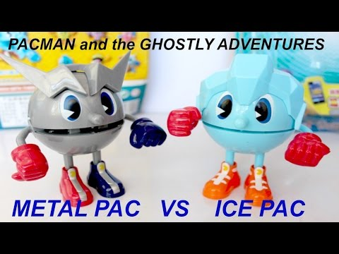 Pac-Man And The Ghostly Adventures Metal Pac  Ice Pac Toy Review I Kids Toys Collector KTC