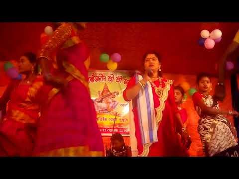 Anjali mahato stage program-swarasatipuja