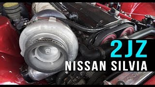 1100+hp 2JZ turbo Nissan Silvia