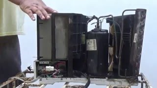Reemplazar las gomas o soportes del compresor