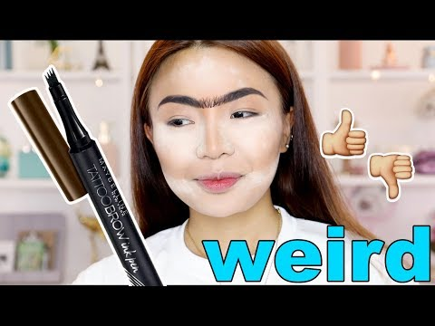 TESTING Weird TATTOO Brow Pen (FAIL?? Or NO)