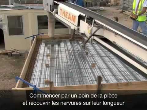 Pose Plancher Metallique Youtube