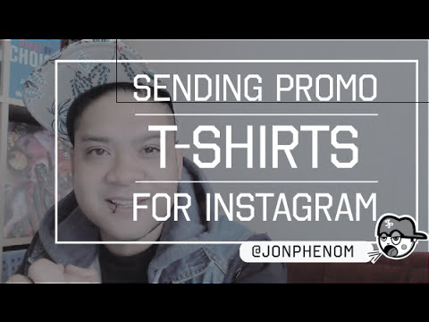 SENDING PROMO T-SHIRTS FROM YOUR CLOTHING BRAND FOR INSTAGRAM CELEBs