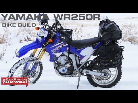 Yamaha WR250R ADV/Dual Sport Bike Build