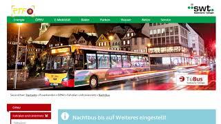 Nachtbusverkehr ruht ab Freitag