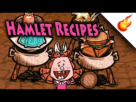 How To Cook All NEW RECIPES In HAMLET - Don't Starve