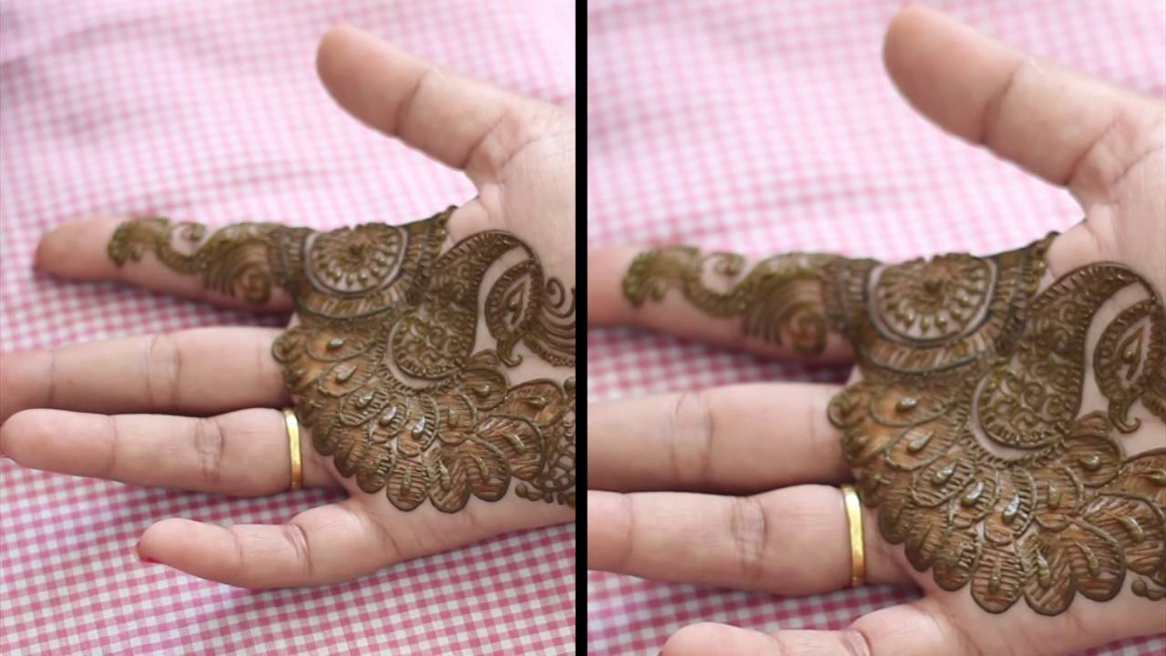 Best Classic bridal Mehndi Henna Designs for hands