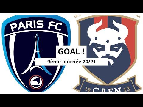 Paris FC Caen Goals And Highlights