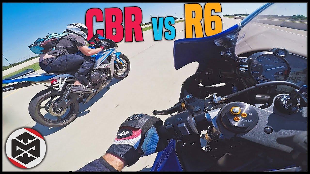 Yamaha R6 vs Honda CBR600RR