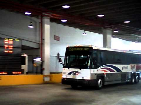 Nj Transit Route 551 Arriving At Walter Rand