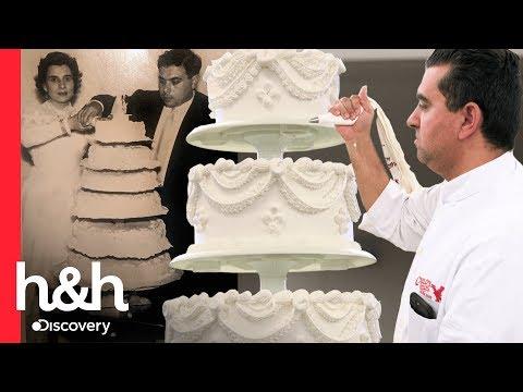O mesmo bolo do casamento 60 anos depois | Cake Boss | Discovery H&H Brasil