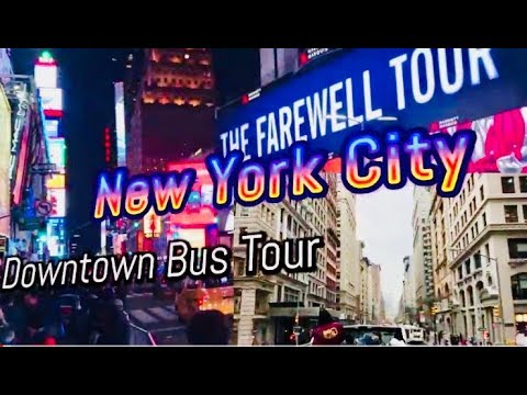 New York City Downtown Big Bus Tour