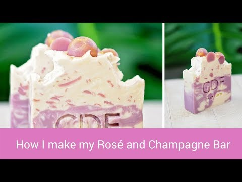 Rosé and Champagne Soap – all natural skin care soap