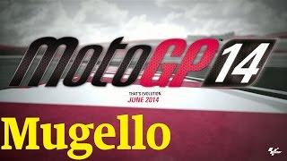 MotoGP 14 Career mode - Race in Mugello circuit [1080p] HD