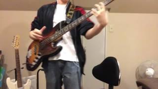 Suchmosの「A.G.I.T」のベースを弾きました。難しかったです。 リスペク...