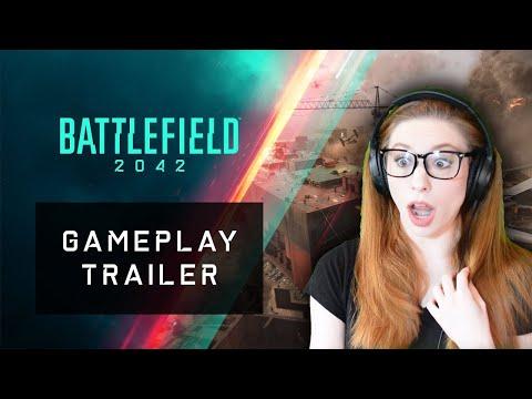 Battlefield 2042 - Official Gameplay Trailer REACTION  | Xbox & Bethesda Games Showcase 2021