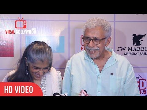 Naseeruddin Shah & Ratna Pathak at Ghanta Awards 2016