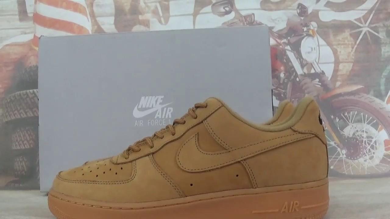 Nike Air Force Youtube One Low Trigo De Youtube Force 753822
