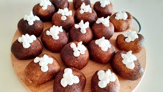 Самые вкусные пирожные Картошка в один замес Простой и проверенный рецепт
