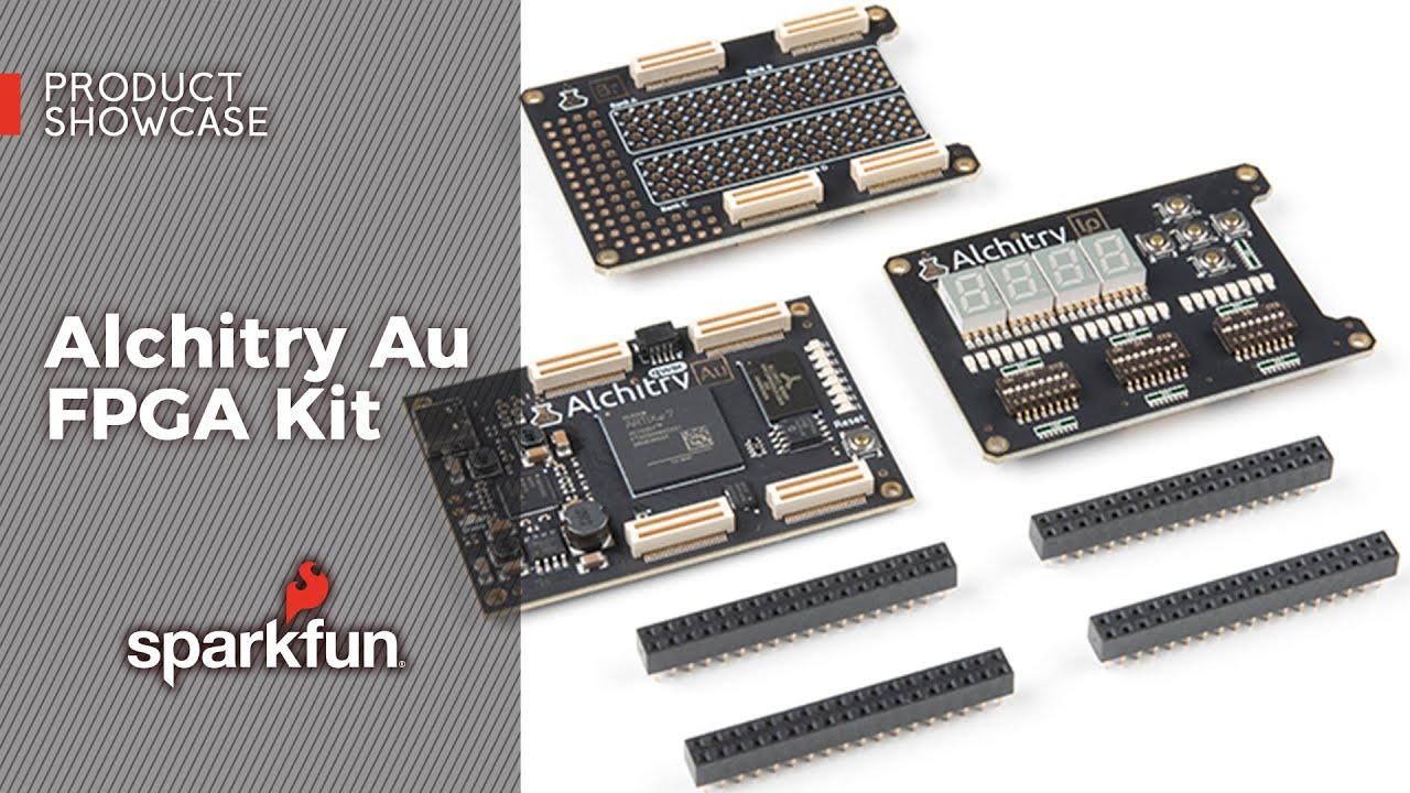 Product Showcase: Alchitry Au FPGA Kit