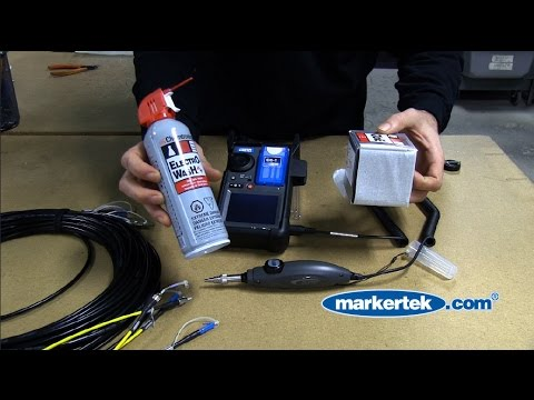 How To Clean ST & LC Fiber Optic Tactical Snake Cables