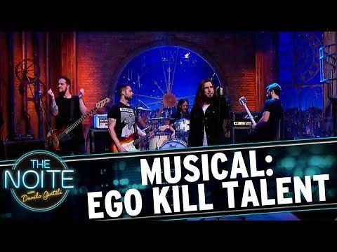 "Ego Kill Talent toca ""Last Ride"" | The Noite (15/09/17)"