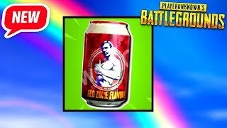 The *NEW SUPER ENERGY DRINK In PUBG! (this is a game changer)