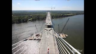 The two side of the East End Bridge came together in late August, 2...