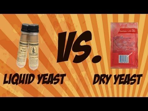 Dry Brewing Yeast vs. Liquid Brewing Yeast | Beer Geek Nation Craft Beer Reviews