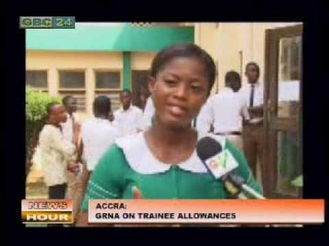 Ghana Registered Nurse's Media Briefing