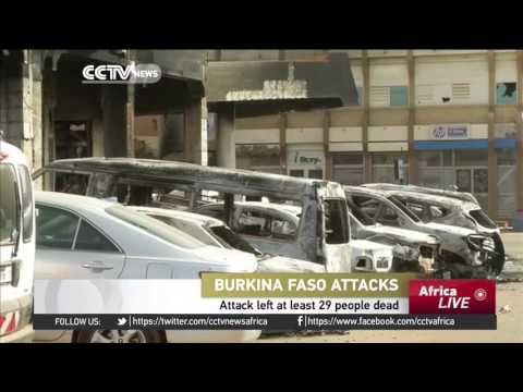 2 French nationals among 29 killed in Burkina Faso hotel attack