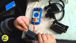 видео Как проверить катушку зажигания в домашних условиях? Признаки неисправности катушки зажигания