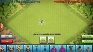Clash of clan 8 seviye köy düzeni ( kupa ganimet )